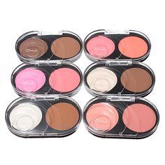 Two Color Makeup Powder Blush Bronze Goddess Soft Matte Bronzer