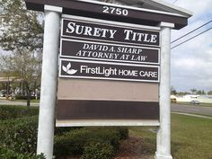 Dimensional Routed Letters for our friends at First Light Home Care