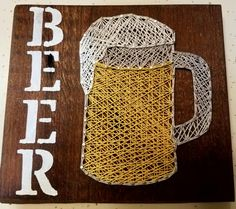 Hey, I found this really awesome Etsy listing at https://www.etsy.com/listing/509409453/beer-mug-string-art