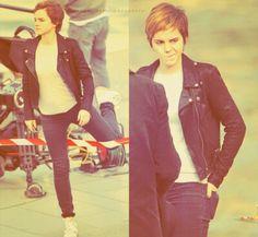 Emma Watson pixie