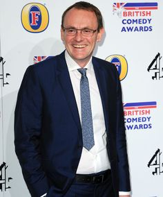 Sean Lock represents 8 Out Of 10 Cats at the British Comedy Awards