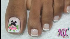 Manicure, Pedicure Nail Art, Toe Nail Art, Pretty Toe Nails, Pretty Toes, Cute Nails, Classy Nails, Stylish Nails, Cute Pedicures