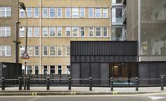 Shepherds Building by Duggan Morris Architects Black Building, Big Building, Duggan Morris, Steel Cladding, Community Housing, Exterior Cladding, Facade Architecture, Modern Exterior, Modern Buildings