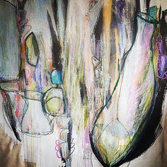 Still title less but ready to go #contemporaryart #abstract #abstractart #artcollector #fineart #emergingartist #california #norcal #sausalito