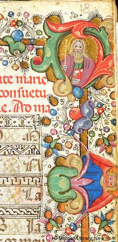 Book of Hours, MS M.1089 fol. 18r - Images from Medieval and Renaissance Manuscripts - The Morgan Library & Museum