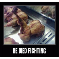 Yes, yes he did.  Now where's the carving knife?