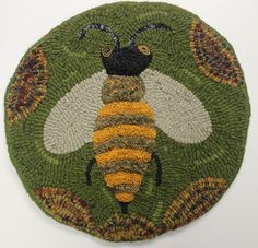 bumble bee chair pad - sculpted