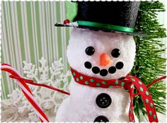Living A Doll's Life : How To Make Snowman