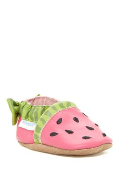 Robeez | Robeez Watermelon Crib Shoe (Baby) | HauteLook
