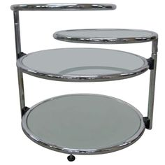 3 Tier Round Occasional Table $2400
