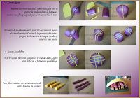 Fimo Crystal clear, tutorial and polymer jewelry: Geometric Complex Cane Part 3