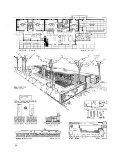 "https://flic.kr/p/5R1UWC | Roland K Kuechle - ""Georgia Builds"" Architectural Competition 1945-1946"