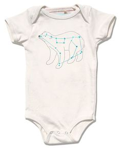 Ursa Major Bear Constellation Infant Bodysuit by alittlelark, $36.00