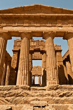 Tempio della Concordia - Valley of the Temples (UNESCO World Heritage Site), Agrigento, Sicily, Italy
