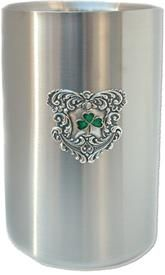 Irish Gifts Wine Cooler with Shamrock