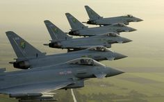 Beautiful photo of the #Eurofighter