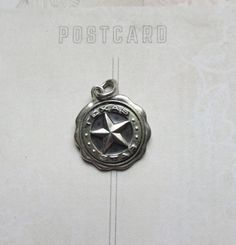 Vintage Sterling Silver Texas Star Charm for Charm by MiladyLinden