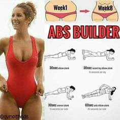 Abs builder! Follow us (@gymethods) for the best daily workout tips ⠀ All credits to respective owner(s) // DM Tag a friend who'd like these tips . . . #fit #fat #fatloss #slim #healthy #girls #fitgirls #fitness