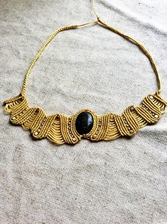 Charm Necklaces – handmade macrame necklace, jade stone necklace – a unique product by ZenBoho on DaWanda