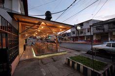 A Seafood Restaurant Newly Renovated in Babahoyo, Ecuador