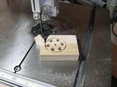 Wooden Models #166: Mag Wheel Making Jig - by htl @ LumberJocks.com ~ woodworking community Wooden Toy Trucks, Wooden Plane, Corn Bags, Making Wooden Toys, Bird Mobile, Wood Toys Plans, Truck Wheels, Make Up Your Mind, Shop Plans