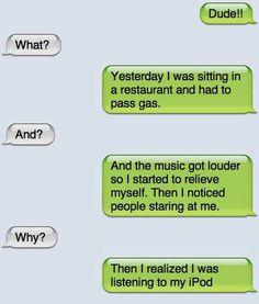 o my gosh so funny lol Funny Shit, Funny Texts Jokes, Text Jokes, Funny Text Fails, Funny Text Messages, Really Funny Memes, Funny Relatable Memes, Stupid Funny Memes, Haha Funny