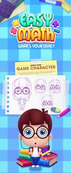 Game Art - Easy Math on Behance