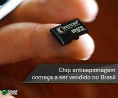 Chip antiespionagem começa a ser vendido no Brasil