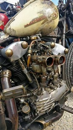 Twin carb Knuckle