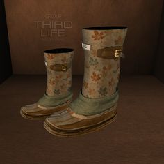 THIRD LIFE [ Frees, Gifts & Hunts ]: 7MAD RAVENS - EDGAR BOOTS **TSS GIFT**