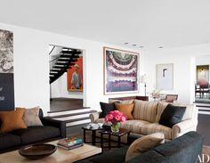 TV Mogul Darren Star's Art-Filled Bel Air Home