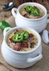 Jalapeno Bacon Cheddar Soup