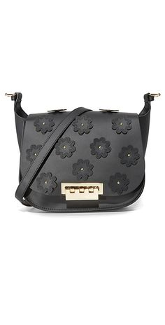 ZAC Zac Posen Floral Applique Eartha Iconic Saddle Bag | SHOPBOP SAVE UP TO 25% Use Code: EOTS17