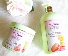 Review: M.Asam - Macaron Shower Gel & Body Soufflé , Inhaltsstoffe