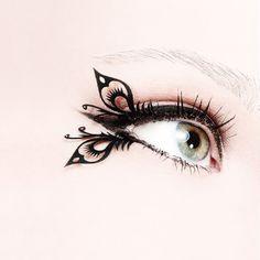 Laser cut paper false eyelashes!! $19 - SO COOL!