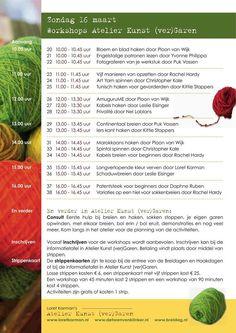 Workshops zondag Brei- en Haakdagen Amersfoort