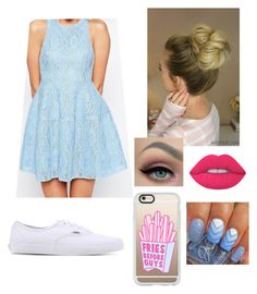 """Pretty "" by elliethemunchkin on Polyvore featuring beauty, ASOS, Vans, Lime Crime and Casetify"