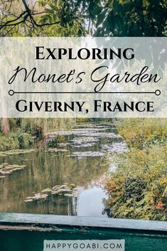 Claude Monet's Garden: Day Trip to Giverny Claude Monets Garten: Tagesausflug nach Giverny Time In France, Visit France, Paris Travel, France Travel, Globe Travel, Claude Monet, Places To Travel, Places To Visit, Travel Destinations