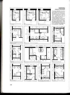 Ideas bathroom layout design floor plans toilets for 2019 The Plan, How To Plan, Bathroom Design Layout, Layout Design, Bathroom Designs, Toilet Plan, Ideas Baños, Bathroom Floor Plans, Floor Plan Layout