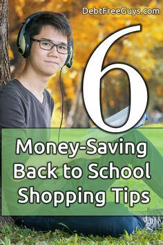 Back to school can be a drain on your finances. Here are six back to school shopping tips to save money and still have a well dressed student. #BeMoneyConscious…