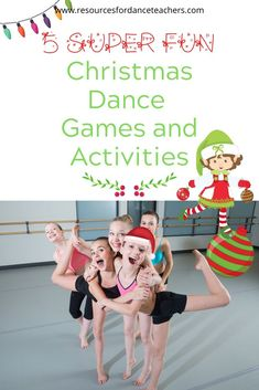 Dance Class Games, Dance Camp, Physical Education Games, Health Education, Physical Activities, Christmas Dance, Christmas Games, School Games For Kids, Yoga For Kids
