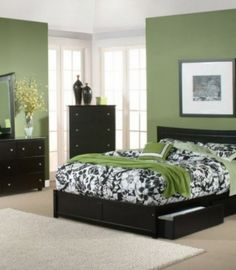 Bedroom Light Green Black Accent Bed Sheet And Green And Black Bedroom Light Green Bedroom Wall Colors Black Wood King Storage Bed Frame Astounding Bedroom Design Ideas That You Will Make You Fall In Love