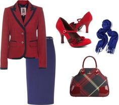 """""""Red Preppy Look"""" by amanda-cotten on Polyvore"""