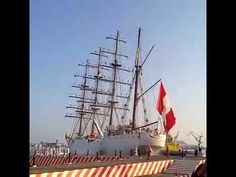 """Buque Escuela Vela """"UNIÓN"""" zarpa del Puerto de Veracruz"""