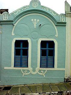 Janelas Coloniais da Cidade de Goiás