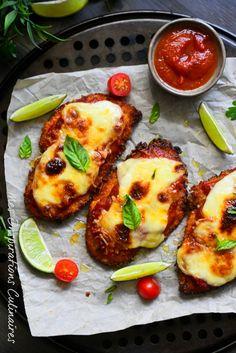 Poulet parmigiana au four