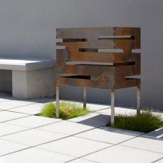 Urban fire basket by Röshults.