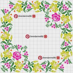 Cross Stitch Cards, Cross Stitch Borders, Cross Stitch Alphabet, Cross Stitch Flowers, Cross Stitch Designs, Cross Stitching, Cross Stitch Patterns, Cross Stitch Kitchen, Baby Dress Patterns