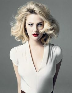 Drew Barrymore (born February 22, 1975) American film actress, producer, and director. Description from pinterest.com. I…