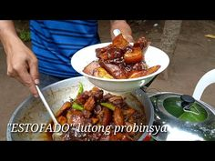 """ESTOFADO"" Lutong Probinsya | Batangas style - YouTube Filipino Dishes, Filipino Recipes, Filipino Food, Halo Halo, Batangas, Pinoy Food, Pork Recipes, The Creator, Beef"